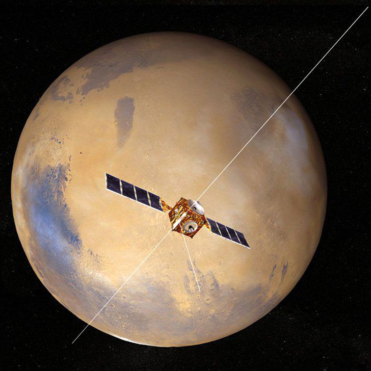 esa science amp technology mars express - 700×700